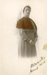 Sister Blanche Cresswick ARRC. Photo: Courtesy Newcastle Museum