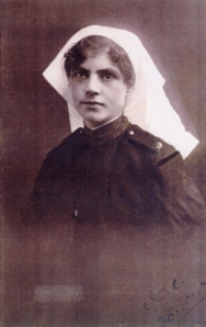 Staff Nurse Ida May Graham in her uniform as a member of the Australian Army Nursing Service.   Image courtesy Inverell Family History Group