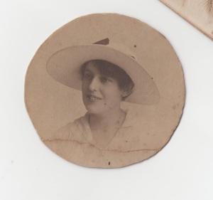 Staff Nurse Helen Stewart c1917